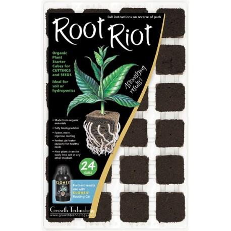Root Riot - супер органические пробки для проращивания 24шт