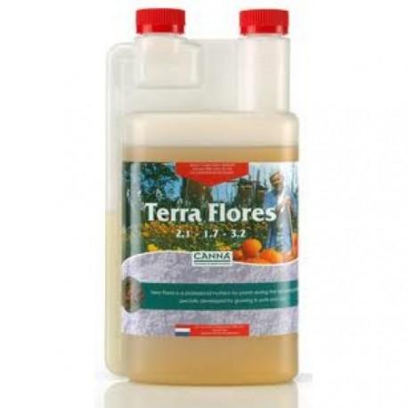 Удобрение для земли Canna Terra FLORES 1литр