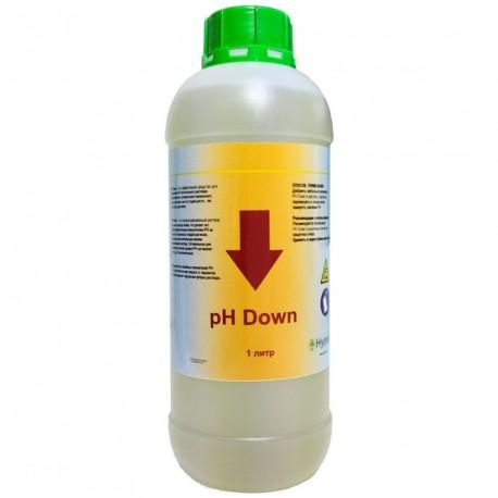 pH Down (Hypod) жидкий 1 литр