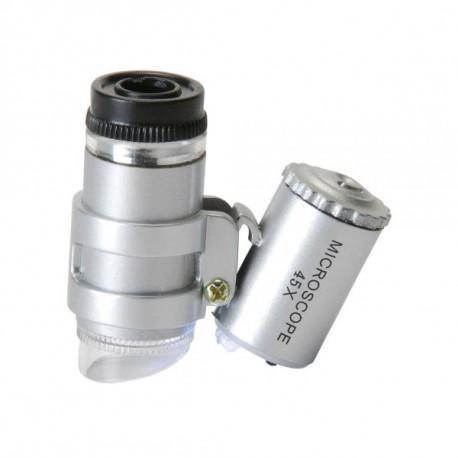 Микроскоп 45X с LED подсветкой