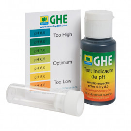 Жидкий pH тест 30 мл GHE