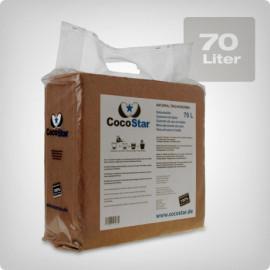 CocoStar Кокосовый блок 70 литров