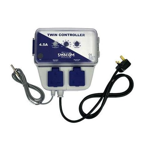 Двойной контроллер вентиляции SMSCOM 4.5 А